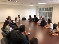 Vereadores estão em Goiânia reunidos com o diretor-geral de Administração Penitenciária de Goiás, coronel Edson Costa