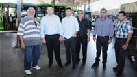 Vereadores fiscalizam funcionamento do Terminal Urbano Municipal