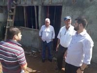 Vereadores inspecionam obras de revitalização no Campo do Barro Preto
