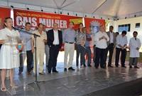Vereadores marcam presença na inauguração do CAIS Mulher