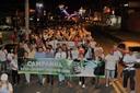 """Vereadores participam da 3ª Caminhada """"Eu sou do bem - Eu sou de Deus"""", promovida pela Cruzada pela Dignidade"""