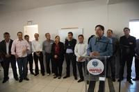 Vereadores participam da inauguração do SAMU no Bairro Alexandrina