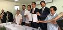 Vereadores participam de evento de repasse financeiro do Governo Federal para Santa Casa