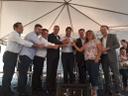 Vereadores participam da entrega dos apartamentos do Residencial Colorado