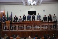 Vereadores prestigiam transmissão de cargo da diretoria do Foro de Anápolis