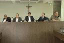Vereadores recebem secretário estadual de Segurança Pública