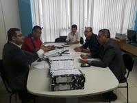Vereadores se encontram com Secretário de Saúde para falar sobre pagamento de anestesistas