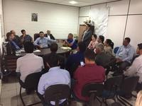 Vereadores se reúnem com diretor da CMTT e falam sobre trabalho conjunto entre Legislativo e autarquia