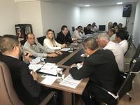 Vereadores se reúnem para composição de comissões e organização de eventos