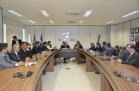 Vereadores cobram da Receita Federal em Brasília manutenção do status de Delegacia em Anápolis