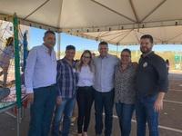 Vereadores visitam secretarias municipais e participam de atualização de cadastro do Bolsa Família no Residencial Colorado I