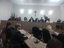 Vice-prefeito Márcio Cândido prestigia primeira sessão ordinária de 2018