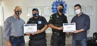 Vigilantes patrimoniais recebem certificado de honra ao mérito
