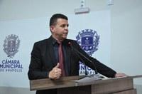 Wederson Lopes chama atenção para projeto do Executivo sobre regularização fundiária