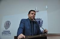 Wederson Lopes comemora sanção do projeto que cria o programa Pró-Água em Anápolis