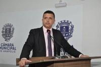 Wederson Lopes propõe parâmetros para internação involuntária de dependentes químicos