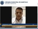 Wederson Lopes repercute instalação de unidade Caixa Aqui no Residencial Munir Calixto