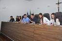 Empossados os 23 vereadores do Parlamento Jovem